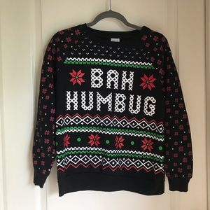 NWOT Ugly Cute Christmas Pullover